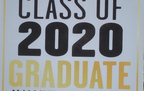 Seniors received a Class of 2020 Graduate sign on June 3 to put outside their house.