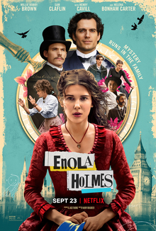 "Netflix Original Film ""Enola Holmes"" was released on Sept. 23 starring ""Stranger Things"" actress Millie Bobby Brown."