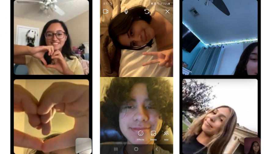Connection Check: Students keep communication alive via video chat