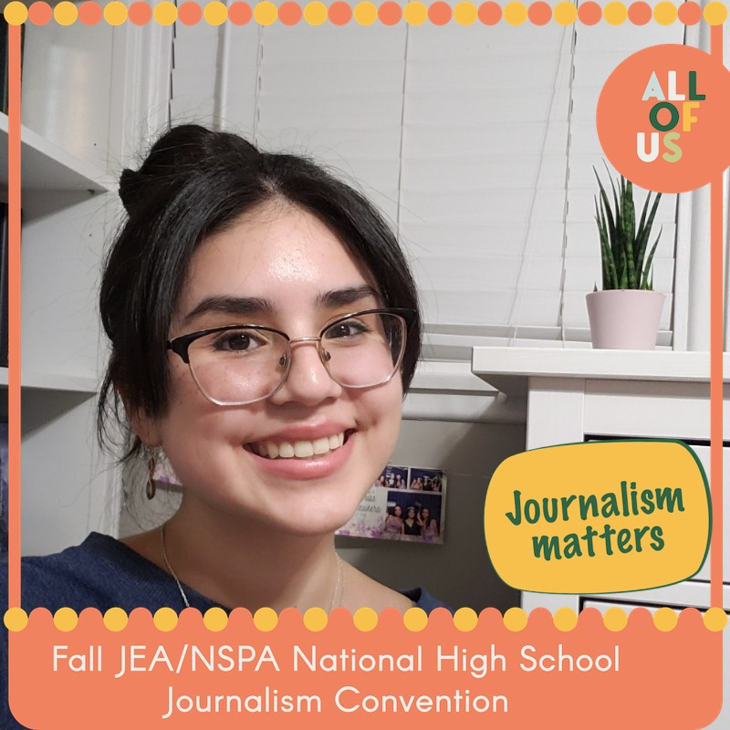 Features Editor Valeria Luquin attended the National Journalism Convention and won fourth place for Best Digital Story of the Year on Nov. 21.