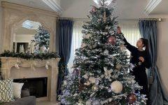 Freshman Alysa Basmadzhyan enjoys decorating her house and the Christmas tree to lighten the mood during quarantine.