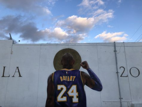 This is one of many Kobe Bryant murals across Los Angeles. This particular one can be found on Clyborne Avenue in Burbank.