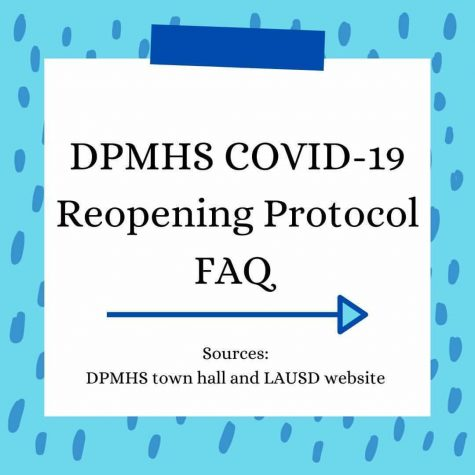 Frequently asked questions: DPMHS COVID-19 reopening protocol